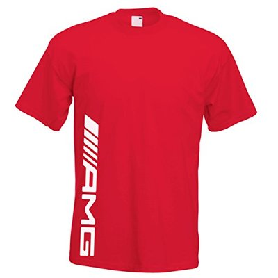 Juko Mercedes AMG Kids T Shirt F1 Hamilton T 1339. Red, 9-11 Years