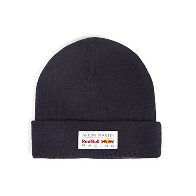 2018 Aston Martin Red Bull Racing F1 Classic Beanie Knitted Hat Navy Adults Size