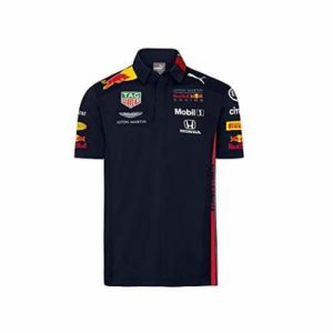 Red Bull Racing Official Teamline Polo Shirt, Blue Kids Size 116 Short Sleeve T Shirt, Racing Aston Martin Formula 1 Team Original Clothing & Merchandise