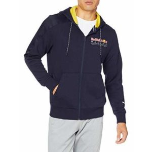 Puma Red Bull Racing Hooded Men's Sweat Jacket Night Sky XS