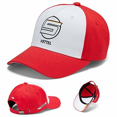 Ferrari 2018 Sebastian Vettel #5 Adult Baseball Cap Official Team Merchandise