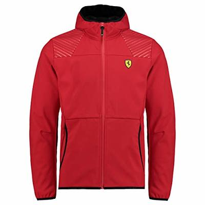 Scuderia Ferrari Jacket Soft Shell with Zip – Racing Softshell