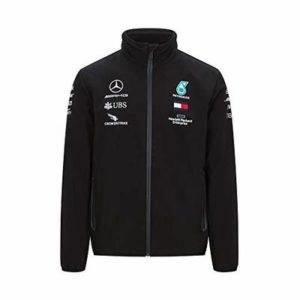 MAMGP Official 2020 Mercedes-AMG F1 Team Rain Jacket Lewis Hamilton Softshell Coat