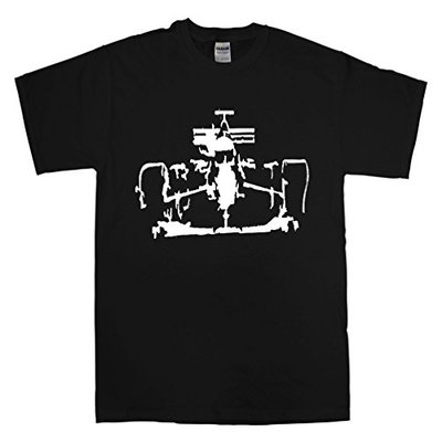 Formula One Inspired Men's T-Shirt (Small) Black