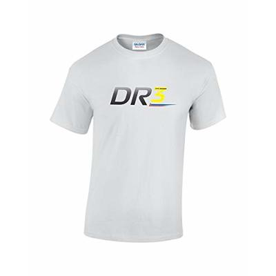 Rinsed DR 3 F1 T-Shirt (White Small)