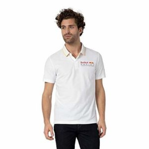 Red Bull Racing Street Polo Shirt, Mens XX-Large – Official Merchandise White