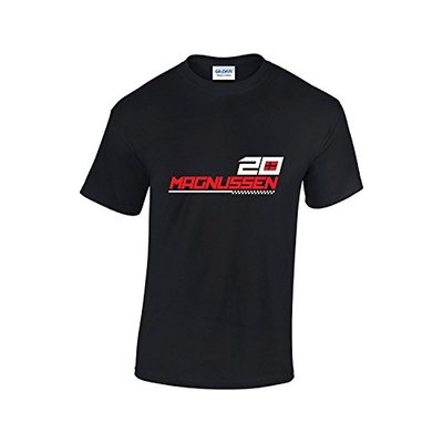 Rinsed Magnussen F1 T-Shirt (Black XX-Large)