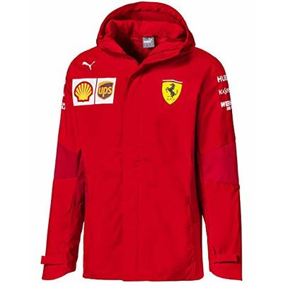PUMA Men's Scuderia Ferrari Team Jacket – Red – M