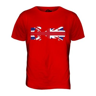 Candymix – Great British F1 – Mens T Shirt Top T-Shirt, Size 3X-Large, Colour Red