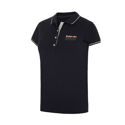 Formula One Red Bull Racing Ladies Classic Polo Shirt in Womens Sizes 8-16