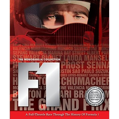 F1: A Full-throttle Race through the History of Formula 1 (Memorabilia Collection)