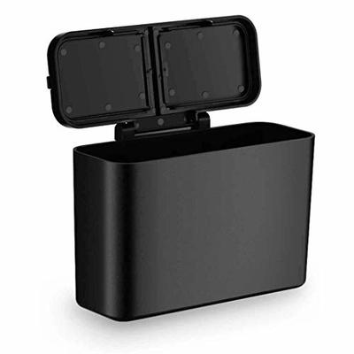 Thumby Vehicle Garbage Dust Case? Rubbish Holder Bin?Vehicle-Mounted Trash Can, Which Can be Hung on The Car, with a Creative Multi-Functional Stylish Covered Trash Can (15.9 * 11 * 5.8Cm)