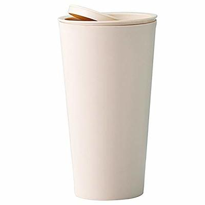 Thumby Vehicle Garbage Dust Case? Rubbish Holder Bin? 1 Piece Car Trash Can, Trash Can, Trash Can, Beige