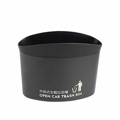 Thumby Vehicle Garbage Dust Case? Rubbish Holder Bin?Auto Parts Open Back Trash Can, Side Door Trash Can, Back Storage Bucket Car Trash,