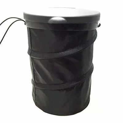 Thumby Vehicle Garbage Dust Case? Rubbish Holder Bin?Foldable Auto Trash Can, Leak-Proof Pop-Up Trash Can,