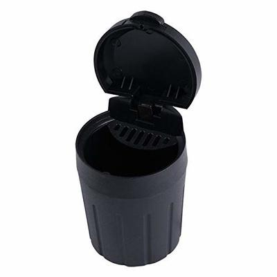 Thumby Vehicle Garbage Dust Case? Rubbish Holder Bin?Mini Car Trash Can, Car Portable Storage BoxBlack, e