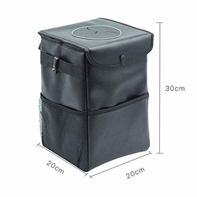 Thumby Vehicle Garbage Dust Case? Rubbish Holder Bin?Car Trash Can, Waterproof Folding Portable Car Creative Chair Back Storage Bag, Car Trash Can, Used to Put Garbage