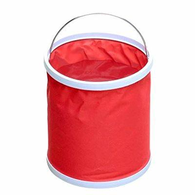 Thumby Vehicle Garbage Dust Case? Rubbish Holder Bin?Car Trash, Car Interior Car Storage Box Creative Fashion Multi-Function Trash Bag,Red, 240 * 220mm
