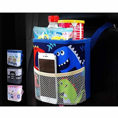 Thumby Vehicle Garbage Dust Case? Rubbish Holder Bin?Car Trash Can, Can Hang Multi-Function Car Storage Box Car Trash Bag, Built-in Waterproof Barrelstyle-8