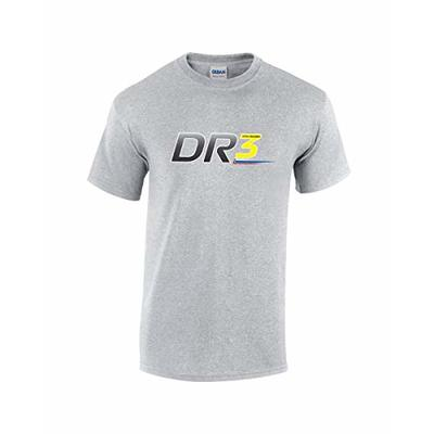 Rinsed DR 3 F1 T-Shirt (Grey Large)