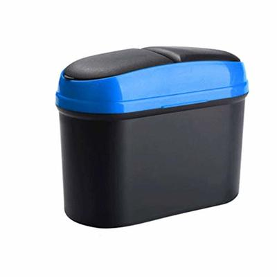 Thumby Vehicle Garbage Dust Case? Rubbish Holder Bin?Car Trash, Car Interior Car Storage Box Creative Fashion Multi-Function Trash Bag,Blue