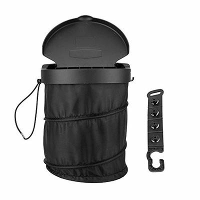 Thumby Vehicle Garbage Dust Case? Rubbish Holder Bin?Foldable Car Trash Bins, Trash Waste Can be Oxford Cloth Back Hanging Trash Bags,