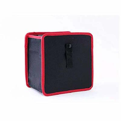 Thumby Vehicle Garbage Dust Case? Rubbish Holder Bin? Car Trash Can, Car Multi-Function Rear Car Storage Bag, Creative Chair Back Foldable Hanging Storage BoxRed