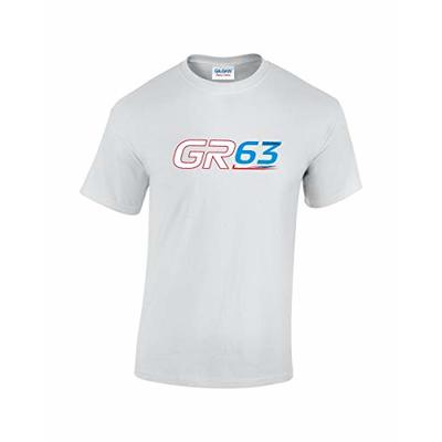 Rinsed GR 63 F1 T-Shirt (White Small)