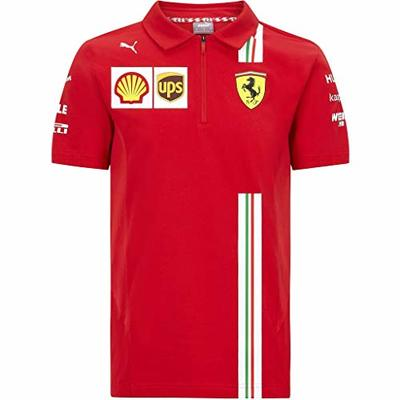 Fuel For Fans Official Formula One – Kids Scuderia Ferrari 2020 PUMA – Team Polo Shirt – Size: 140