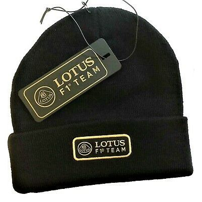 HAT BEANIE Knitted Formula One 1 Lotus F1 Official Team Kimi Raikkonen NEW!