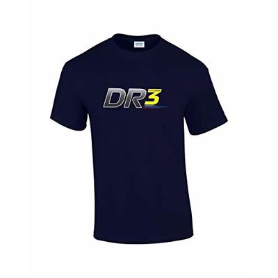Rinsed DR 3 F1 T-Shirt (Navy X-Large)