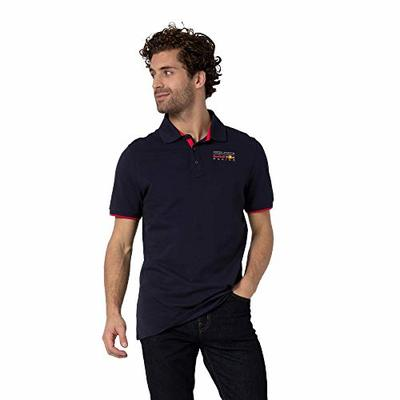 Red Bull Racing Classic Polo Shirt, Mens X-Large – Official Merchandise