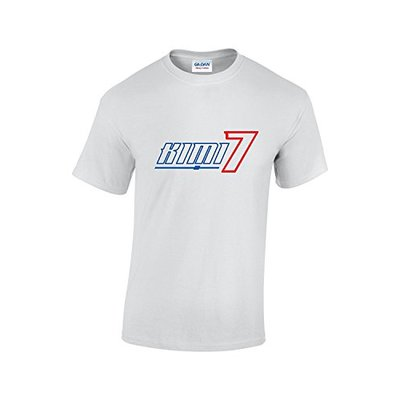 Raikkonen F1 T-Shirt (White Large)