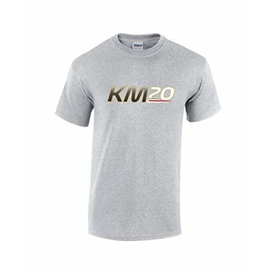 Rinsed KM 20 F1 T-Shirt (Grey Large)