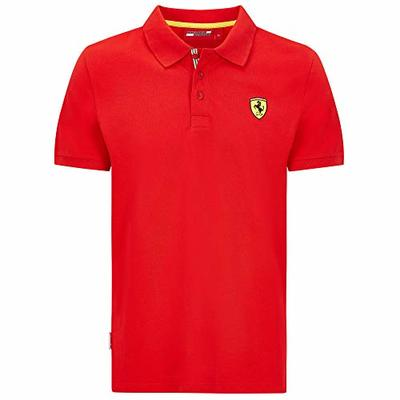 2020 Scuderia Ferrari F1 Childrens T-Shirt Polo Shirt Official Kids Fanwear