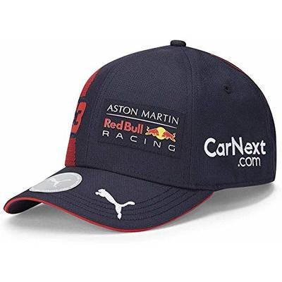PUMA AMRBR Replica Verstappen BB Cap, Unisex Adult, Night Sky/Chinese Red, One Size