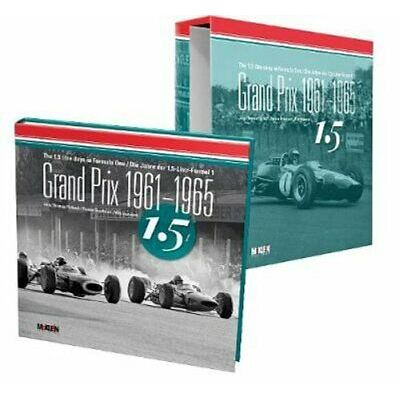Grand Prix 1961-1965 The 1.5 litre days in Formula One 9783947156276 | Brand New